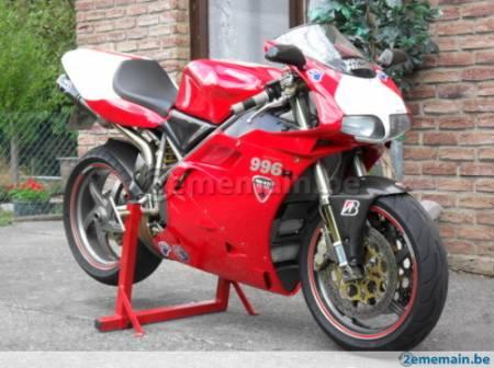 ducati 996s 2001 full carbone 1