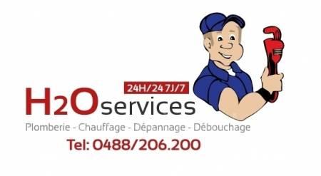 H2o Services Dépannage Urgent Plombier Evere 0488/206.200