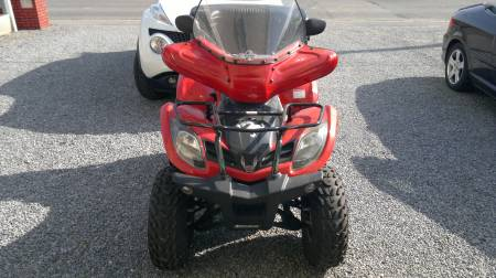 Quad kymco occ.300 cc full options très peu roulé(-1000kl) 1
