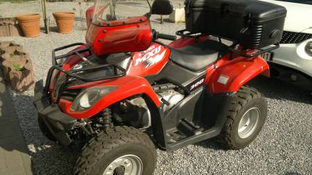 Quad kymco occ.300 cc full options très peu roulé(-1000kl) 4