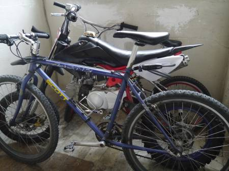 DIRT 110cc compétition 2