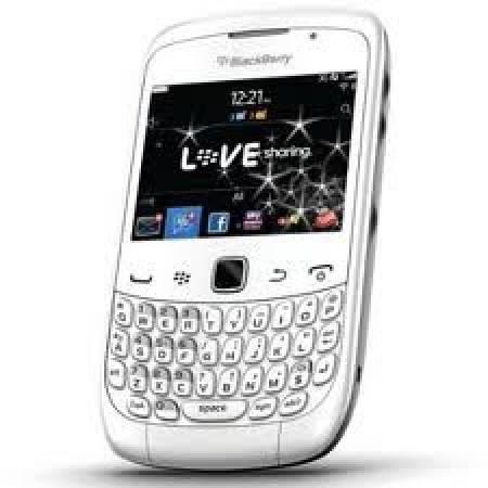 Blackberry 9300 curve blanc