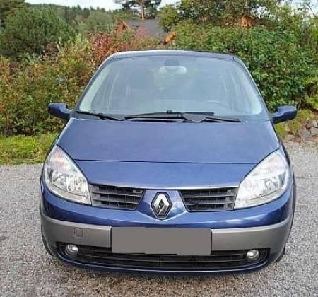 Renault Grand Scenic bleue  2004 1