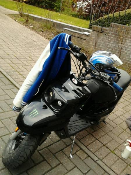 Yamaha MBK 100 km !