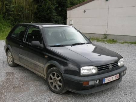 vente Volkswagen golf 3 noire
