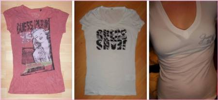 Lot de 3 t-shirts Guess