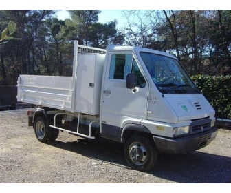 Renault B80 camion avec benne 1