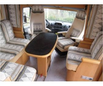 Camping car FRANKIA T 7000 BK 2