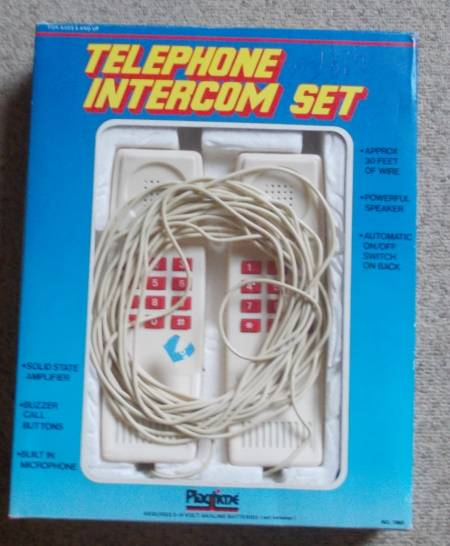 Téléphones pour communiquer d'une pièce à l'autre