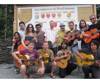 Cours de guitare flamenco par Antonio Segura / Bruxelles 2
