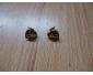 Boucles d'oreilles Or plaqué en vente