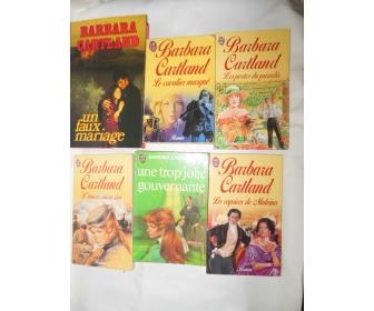 livres de Barbara cartland 1