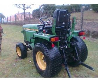 micro tracteur tondeuse à Hainaut 1