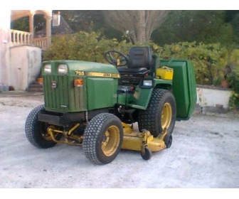 micro tracteur tondeuse à Hainaut 3