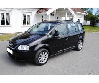Volkswagen Touran 1.9 TDI en Belgique 1