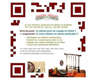 Cours chinois mandarin pour adultes et enfants 1