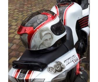 Peinture motos, quads, scooters, casques... 3
