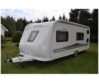 Caravane hobby 4 places à vendre 3