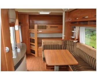 Caravane hobby 4 places à vendre 2