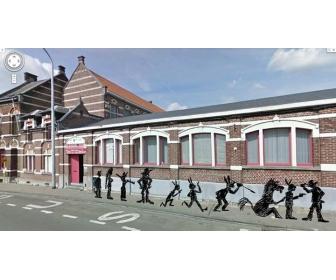 Cours de bande déssinée à Hainaut 1
