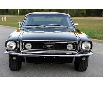 voiture 1968 ford mustang gt fastback vendre. Black Bedroom Furniture Sets. Home Design Ideas