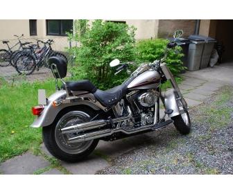 Moto Harley-Davidson Fat Boy 2