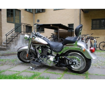 Moto Harley-Davidson Fat Boy 4