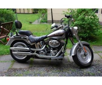 Moto Harley-Davidson Fat Boy 1