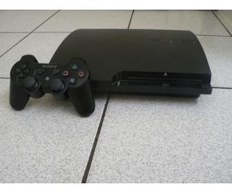 Playstation 3 slim de 160 Go avec 6 jeux à vendre 1