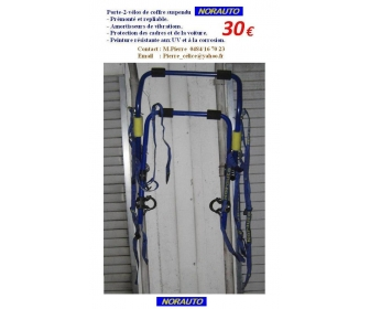 Porte vélos de coffre suspendu NORAUTO  1