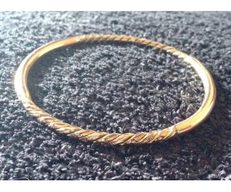 Bracelet or 18K à vendre 1
