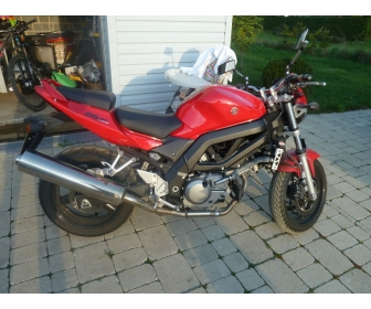 Moto Suzuki SV 650 occasion 1