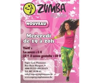 Nouveau cours de Zumba à Liège  1
