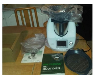 robot thermomix tm5 tout neuf vendre. Black Bedroom Furniture Sets. Home Design Ideas