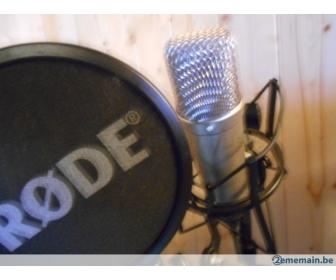 Microphone de studio Stagg et stand à vendre 4