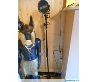 Microphone de studio Stagg et stand à vendre 3