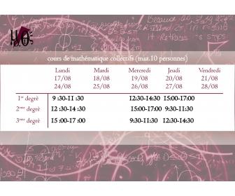 Cours de math 1