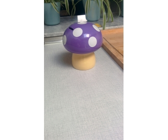 Tirelire champignon style Mario pas cher 3