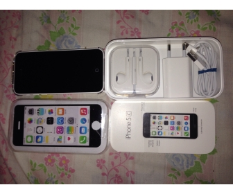 iPhone 5c blanc sous de garanti en vente  2