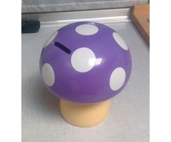 Tirelire champignon style Mario pas cher 2