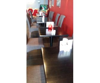 Table de restaurant noir en bois vendre - Table de restaurant occasion a vendre ...