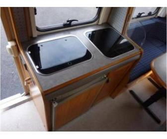 Camping car profil� court ERIBA ft 580 2