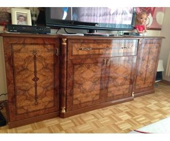 Salon complet en bois à Estinnes 1
