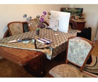 Salon complet en bois à Estinnes 4