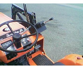 Don de mon Micro tracteur kubota occ + chargeur 2