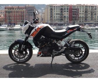 Moto occasion KTM 125 Cm3 à Hainaut 2