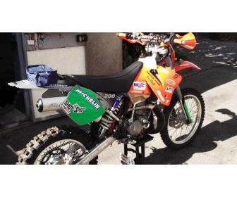 KTM modèle 200 Cm3 à Liège 1