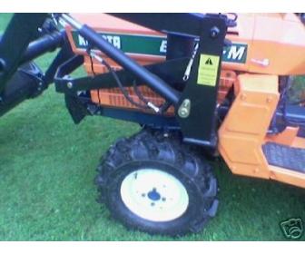 Don de mon Micro tracteur kubota occ + chargeur à Liège 3