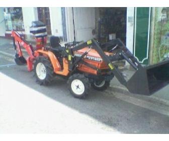 Don de mon Micro tracteur kubota occ + chargeur à Liège 1