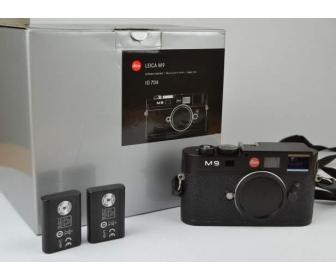 LEICA M9 noir nouveau capteur 1